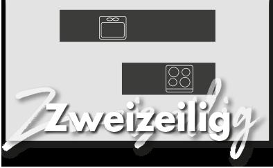 Zweizeilige Küchen